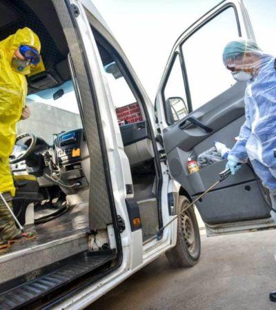 Дезинфекция транспорта от коронавируса 2
